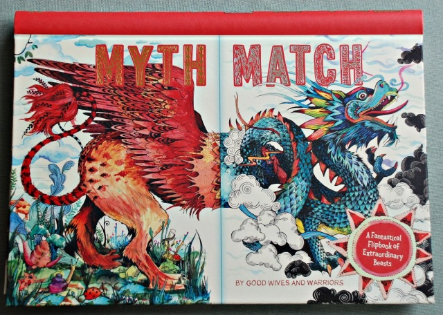 The Myth Match Book. The kids can mix and match different mythological creatures