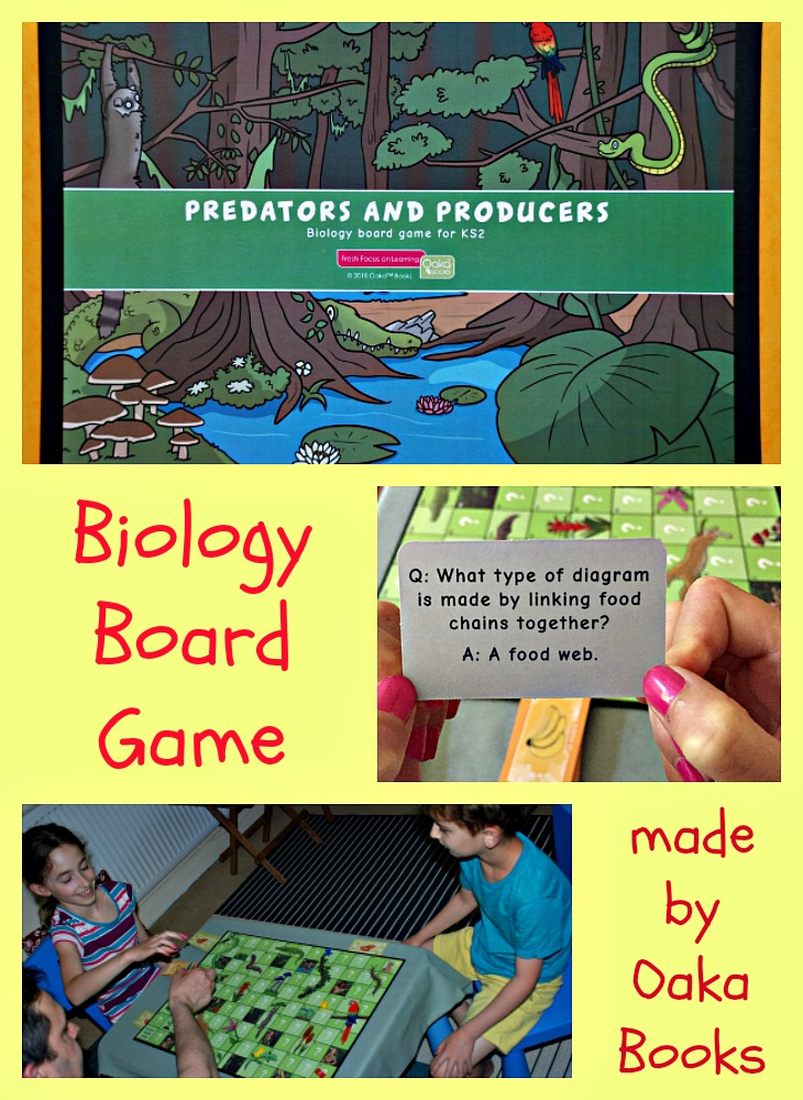 Predators and Producers Board Game | ofamily learning together