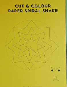 Spiral snake template from minieco.co.uk website