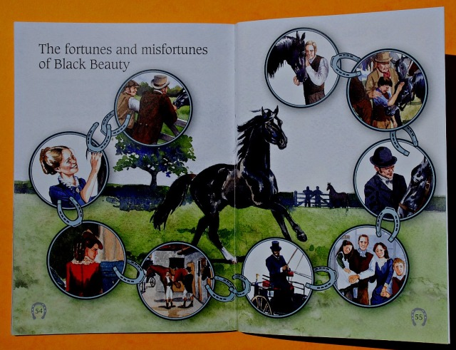 The fortunes and misfortunes of Black Beauty. Included at the end of the BIG CAT reader Black Beauty
