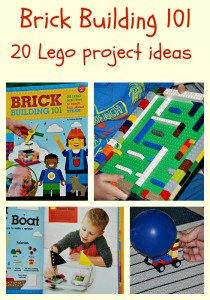 Brick Building 101. 20 Lego projects to try at home with the kids. STEAM activities using Lego