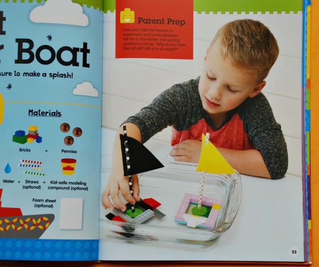 Brick Building 101. Build a sailing boat idea