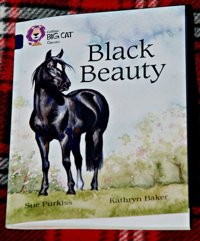 Collins BIG CAT Class reader Black Beauty. A lovely version of the children's classic story