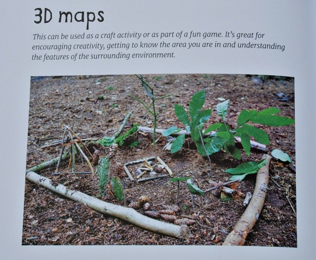 Forest School ADventure. Outdoor Skills and Play for Children. 3D Maps