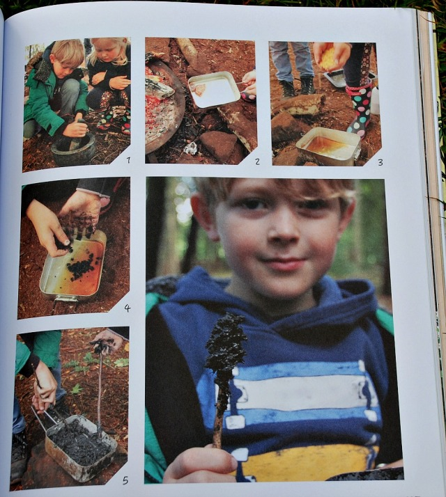Forest School ADventure. Outdoor Skills and Play for Children. Includes step by step instructions for each activities and lots of photographs