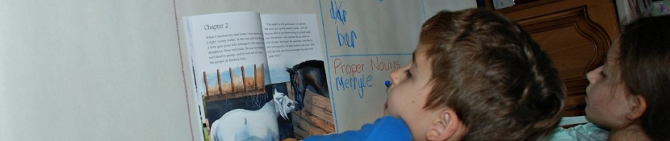 hunting for Vebs, Nouns, Adverbs and Adjectives in the story of Black Beauty