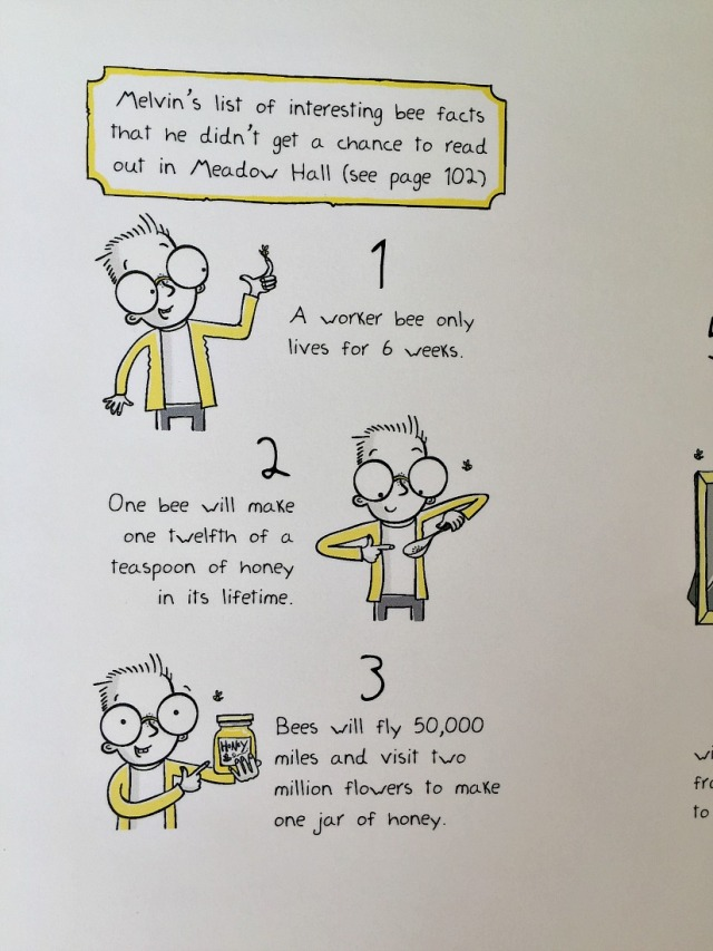 Free to download interesting fact page from the Bee Boy book