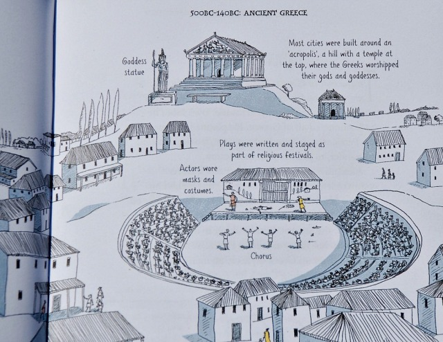 Usborne A Short History of the World. Ancient Greece