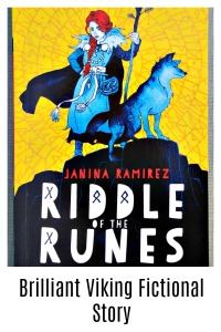 Riddle of the Runes. A brilliant Viking Fictional story with lots of historical references and a strong female character. review on ofamilylearningtogether.com