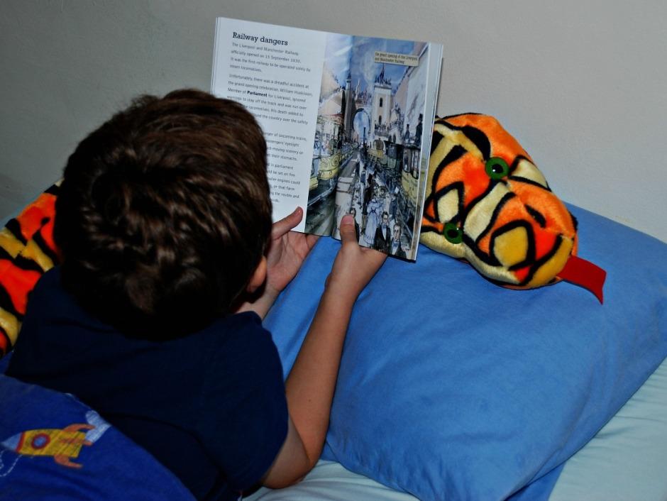 reading the Railway Revolution BIG CAT reader