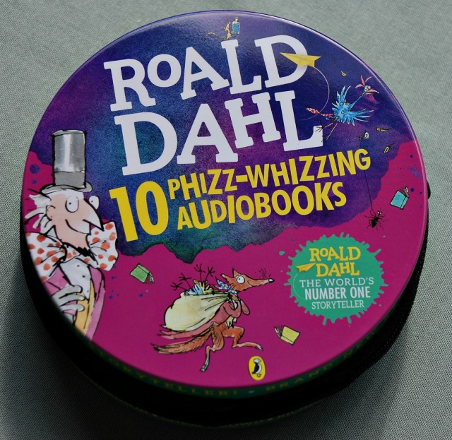 Roald Dahl Audiobooks perfect for car trips