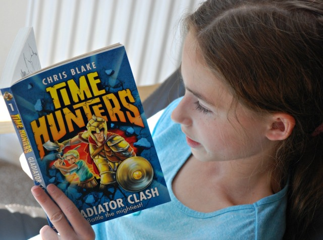 Chris Blakes Time Hunter Gladiator Clash book
