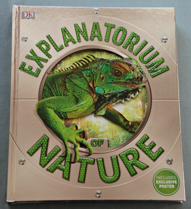 DK Explanatorium Nature. An incredible book on nature