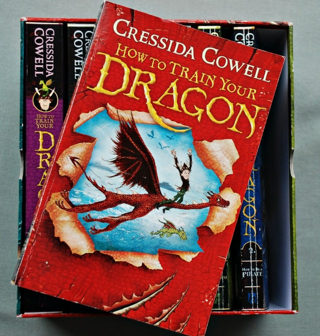 How to Train Your Dragon set of Books written by Cressida Cowell
