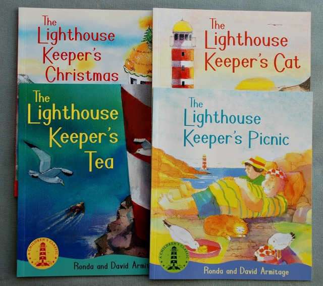 Lighthouse Keeper's books by Ronda and David Armitage