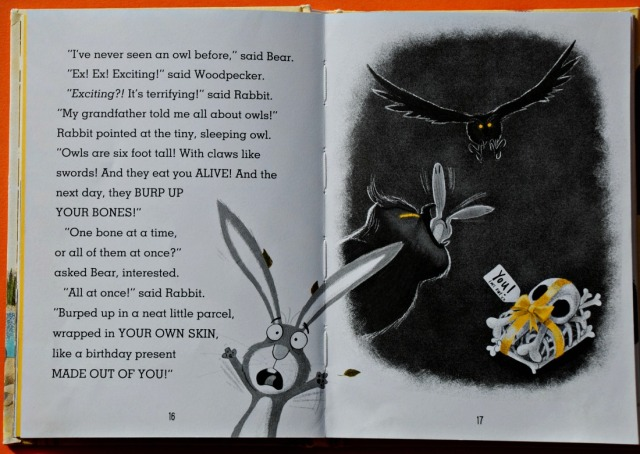 Rabbit & Bear Attack of the Snack. An owl. Such a fun reader for beginners