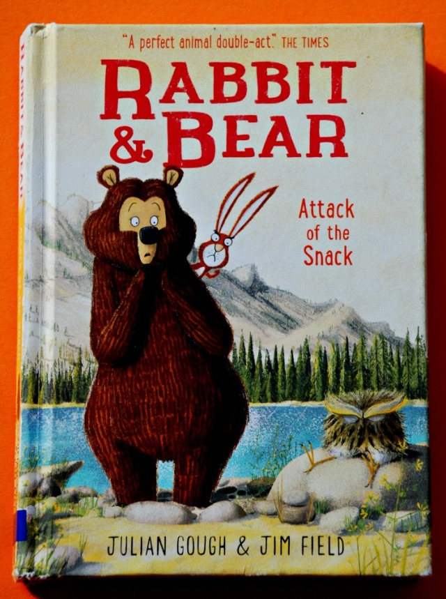 Rabbit and Bear Attack of the Snack by Julian Gough and Jim Field. A funny early reading book