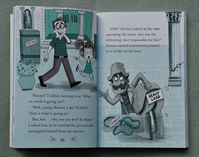 Horace and Harriet. A story about a freindship between a little girl and a talking statue
