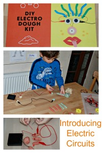 Introducing Electric Circuits with the DIY Electro Dough Kit.  Perfect for home education