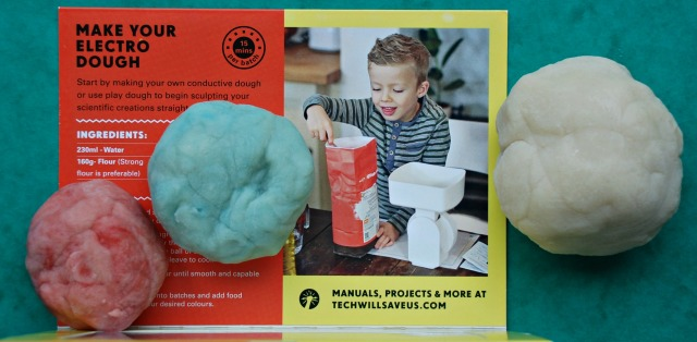 Make Your Own Conductive Dough to go with your Electro Dough Kit