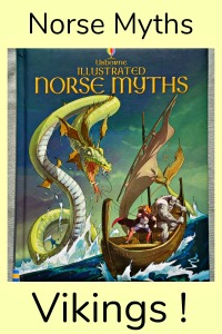 Norse Myths for children. Perfect to read while learning about Viking History. Well written and fasinating stories