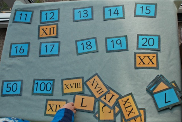 Roman Numeral Matching Cards. Free to download from Twinkl Resources