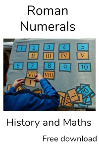 Roman Numeral matching Cards perfect for a Roman Topic. Free to download from Twinkl Resources website
