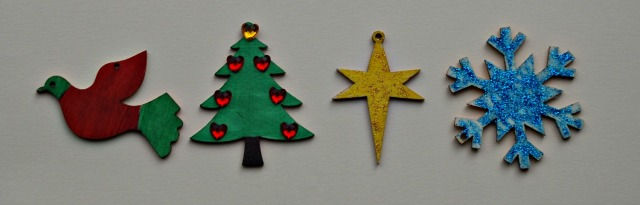 Some of the Tiger Christmas Ornaments decorated by Kids. Easy Christmas Craft activity