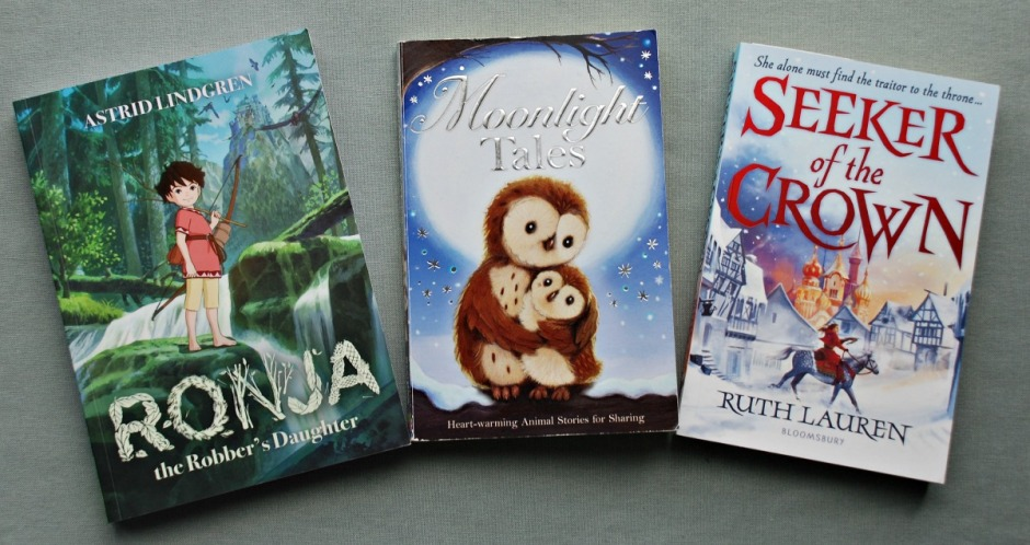 New Books. Ronja the Robber's Daughter, Moonlight Tales and Seeker of the Crown