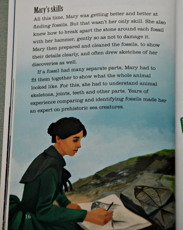 BIG CAT reader Mary Anning Fossil Hunter. Mary's Skills
