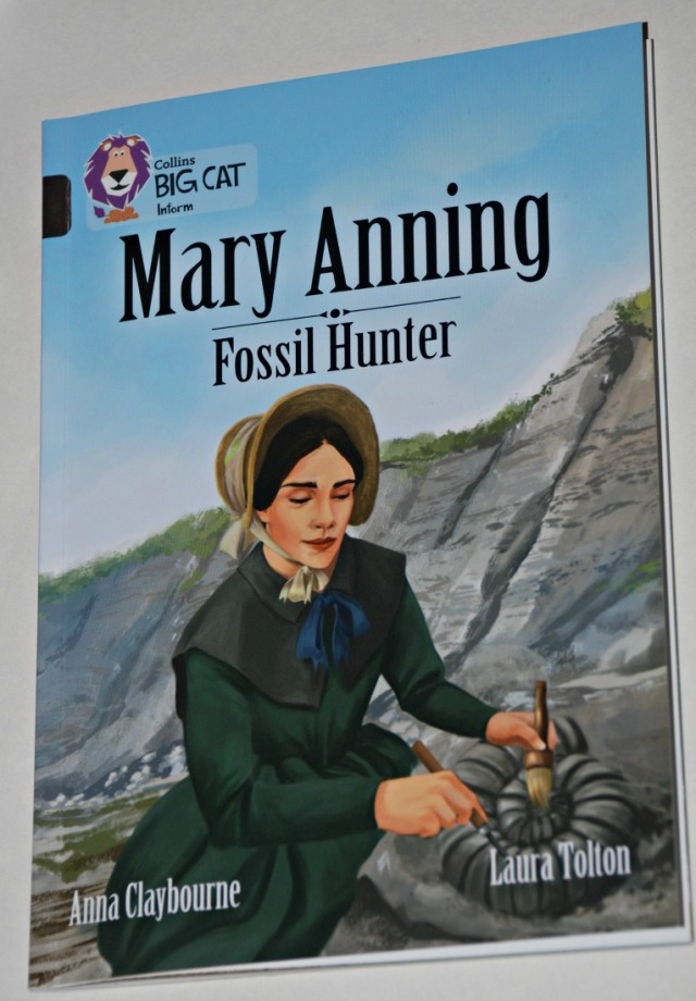 Collins BIG CAT reader Mary Anning Fossil Hunter