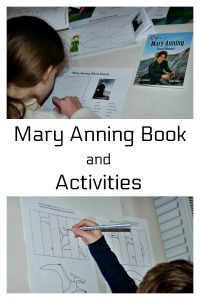 Mary Anning Fossil Hunter Book and Activities from Activity Village