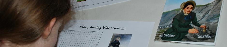 Mary Anning Worksheets from the the Activity Village website