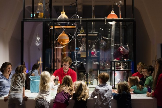 The Chemistry Bar in the Wonderlab at the Science Museum in London
