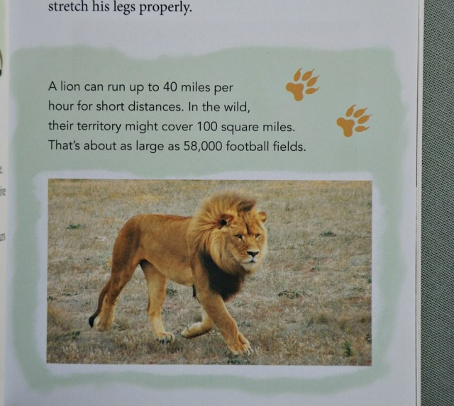 Some of the animal facts included in the Born Free books