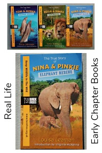 Born Free Books. Real stories about wild animals that are rescued. Early Chapter Books