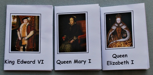 British Monarchy Booklets downloaded from the Activity Village website. Perfect to summarize key facts