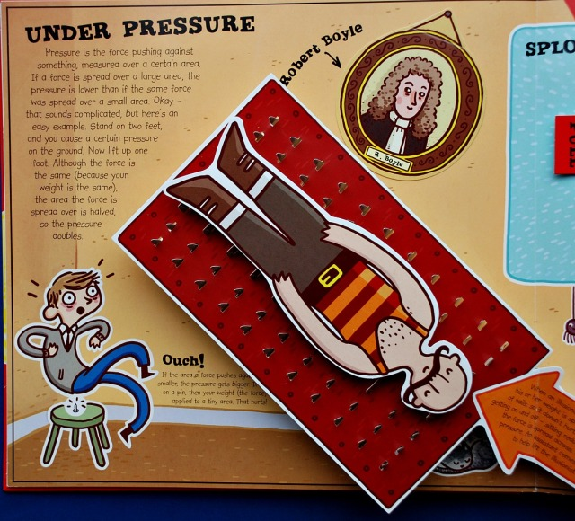 Super Science Feel the Force Book. Under presuure using a bed of nails as an example