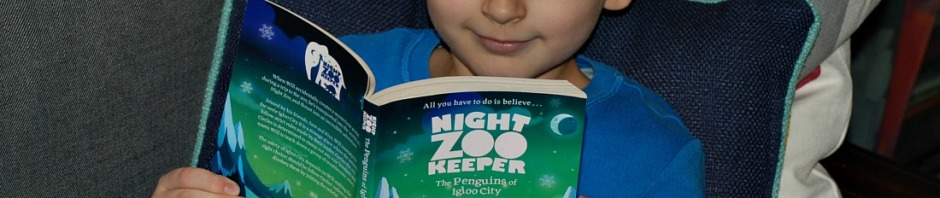 reading Night Zookeeper penguins of Igloo City Book written by Joshua Davidson