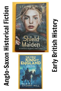 Anglo-Saxon Historical Fiction books for older kids. British History brought to life. filled with Historical references