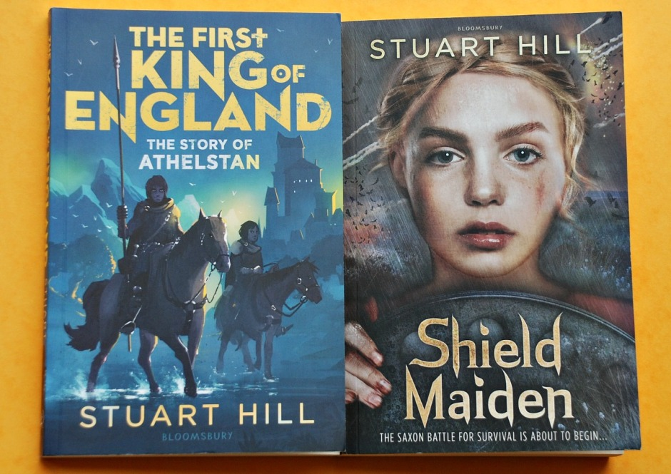 Anglo-Saxon Hsitorical Fiction for children. Shield Maiden and The First King of England