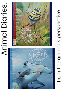Animal Diaries. Books written as if the animals are keeping their own diaries. Brilliant, informative and funny