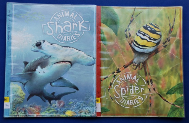 Animal Diaries. Fun and informative books written as if the animal is keeping a diary of events that happen