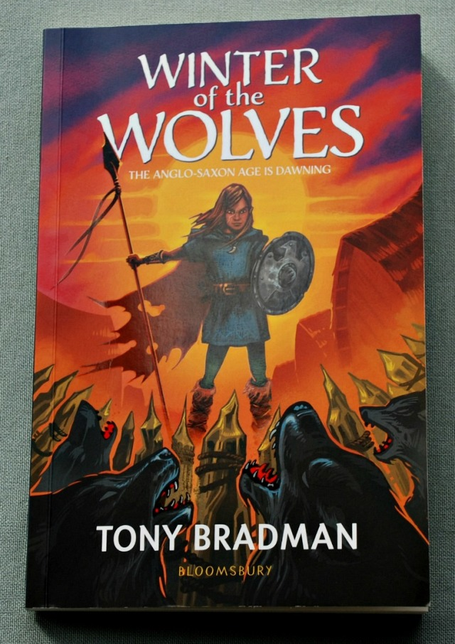 Winter of the Wolves by Tony Bradman. A Historical Fiction story for kids to read. All about the Anglo-Saxon period