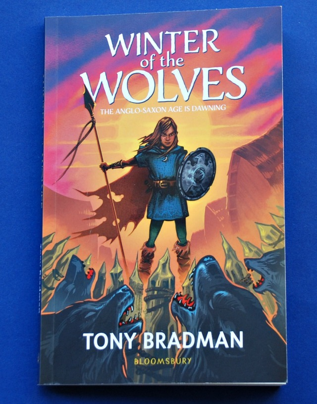 Winter of the Wolves by Tony Bradman. The Anglo-Saxon Age is Dawning. Prefect Historical Fiction book for kids to read while learning about the Anglo-Saxons