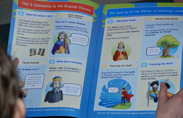 Battle of Hastings Topic Booklet from Oaka Books. explains the lead up to the Battle of Hastings