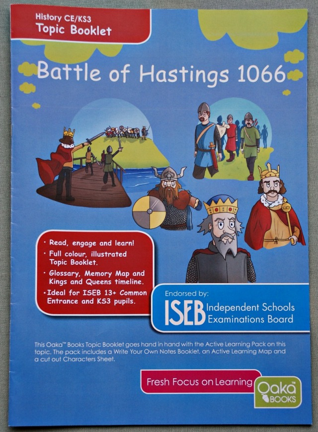 Battle of Hastings Topic Booklet part of the Topic Pack from Oaka Books