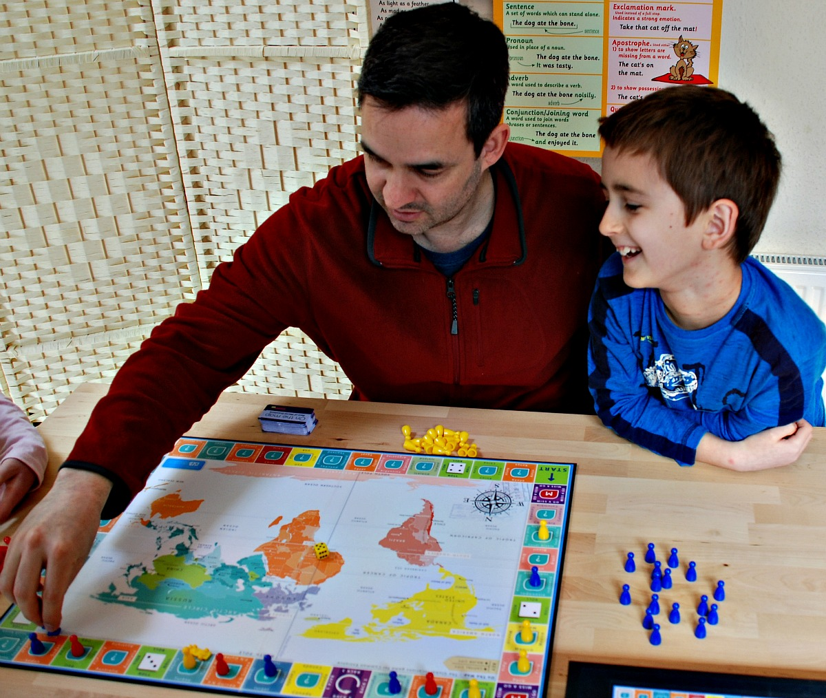 Board game fun with On the Map by Oaka Books