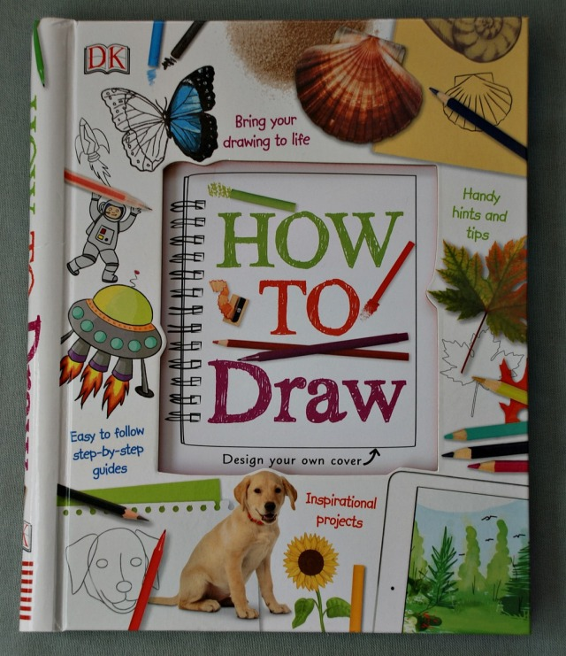 DK publishing How to Draw Books for kids