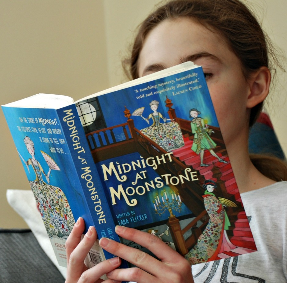 Midnight at Moonstone is a delightful story about a 12 year old girl who discovers mannequins who come to life